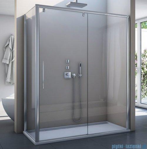 SanSwiss Pur Light S PLST SM Ścianka boczna 80-120cm standard profil połysk szkło przejrzyste PLSTSM45007