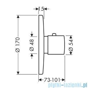Hansgrohe Axor Uno² Bateria termostatowa DN15/DN20 38375000