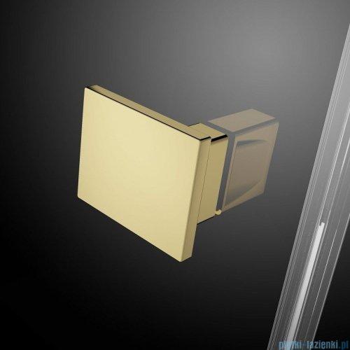 Radaway Essenza Pro Gold Kdj kabina 90x100cm prawa przejrzyste 10097090-09-01R/10098100-01-01