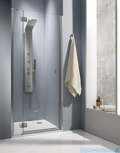 Radaway Drzwi prysznicowe Essenza DWJ 110 lewe szkło przejrzyste
