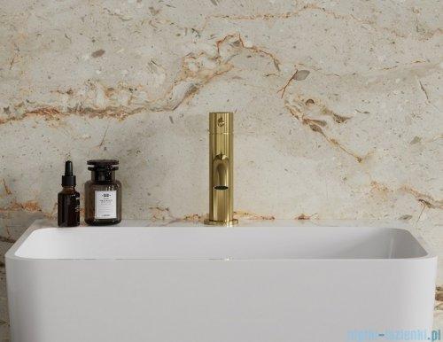 Omnires Y bateria umywalkowa sztorcowa złoto szczotkowane Y1210NGLB