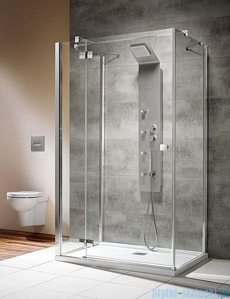 Radaway Kabina prysznicowa Almatea KDJ+S 90x90x90 lewa szkło przejrzyste