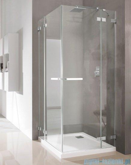 Radaway Euphoria KDD Kabina prysznicowa 80 część lewa szkło przejrzyste