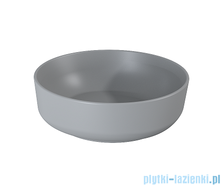 Elita Lorca umywalka nablatowa ceramiczna 41cm Light Grey Matt 145086