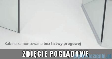 Radaway Euphoria KDJ Kabina prysznicowa 110x80 lewa szkło przejrzyste bez progu