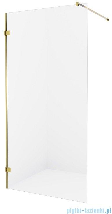 New Trendy Avexa Gold kabina Walk-In 120x200 cm przejrzyste EXK-1797