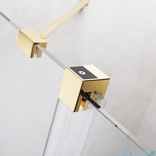 Radaway Furo Gold Walk-in kabina 150x200cm prawa szkło przejrzyste 10106788-09-01R/10110744-01-01