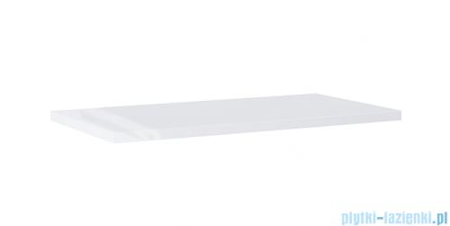 Elita blat MDF 90x46cm biały połysk 166893