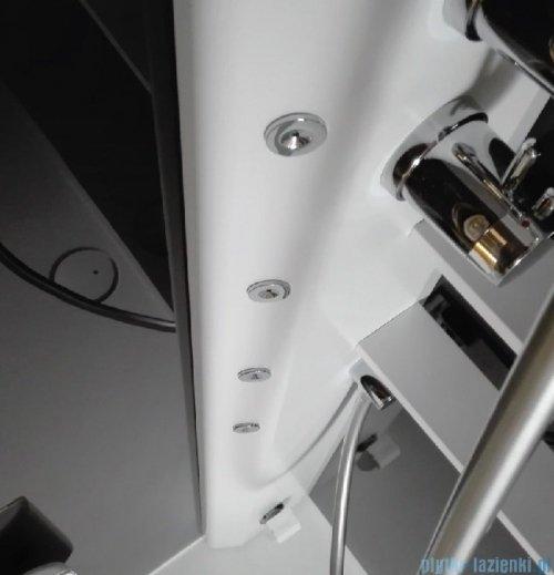 Novellini Glax 2 2.0 kabina masażowo-parowa 90x90 prawa total biała G22GF90DT5-1UU