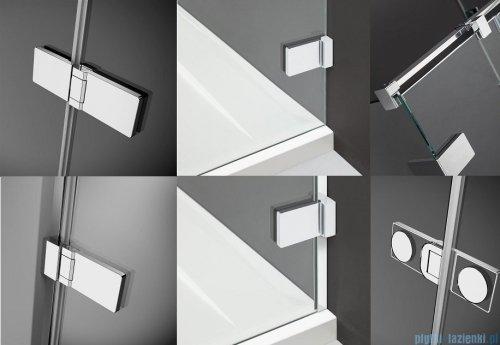 Radaway Arta Kdj I kabina 100x100cm prawa szkło przejrzyste + brodzik Doros C + syfon