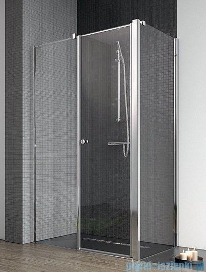 Radaway Eos II KDS kabina prysznicowa 90x80 lewa szkło przejrzyste + brodzik Argos D + syfon