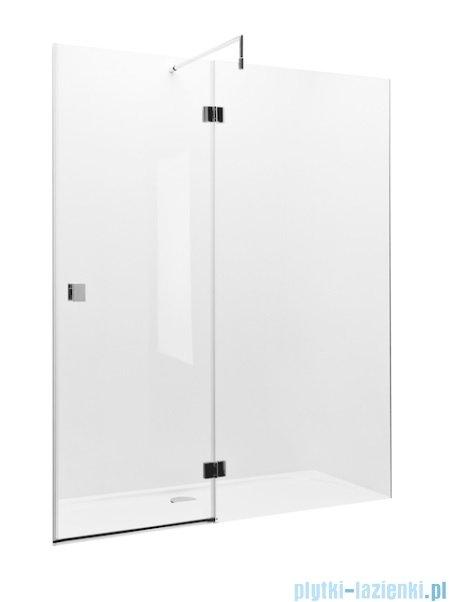 Roca Metropolis drzwi prysznicowe 160cm szkło przejrzyste