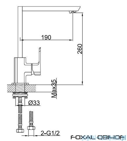 Kohlman Foxal bateria kuchenna QB140F