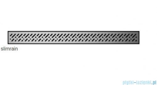 Radaway Slim Rain odpływ liniowy 55x6cm 5L055S/5R055SR