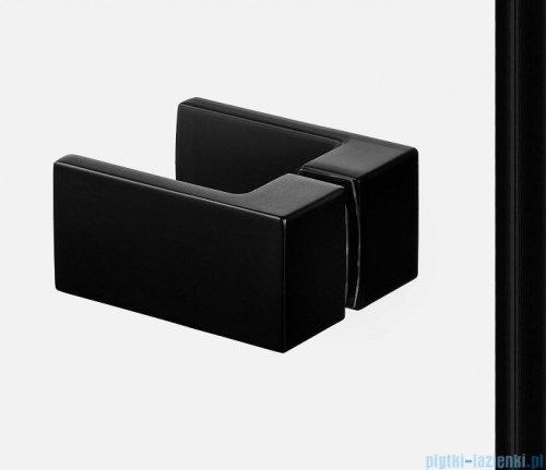 New Trendy Avexa Black drzwi wnękowe 110x200 cm przejrzyste lewa EXK-1552