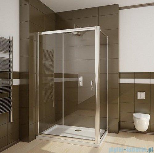 Radaway Premium Plus DWJ+S kabina prysznicowa 140x80cm szkło brązowe