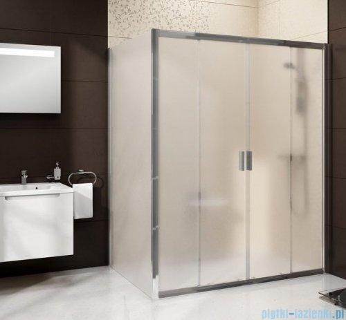 Ravak Blix BLDP4 drzwi prysznicowe 120cm satyna grape Anticalc 0YVG0U00ZG