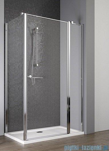 Radaway Eos II KDJ kabina prysznicowa 100x80 prawa szkło przejrzyste + brodzik Argos D + syfon