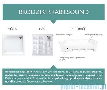 Schedpol Grando Brodzik półokrągły 90x90x17cm 3.029