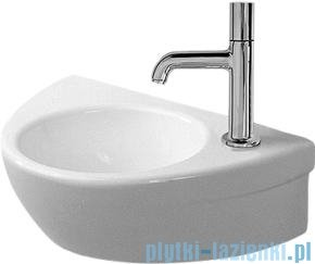 Duravit Starck 2 umywalka mała bez przelewu bez otworu na baterię 380x260 mm 076138 00 00