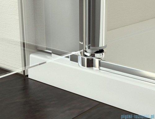 SanSwiss Swing Line SL2 Drzwi 2-częściowe 80cm profil srebrny SL208000107