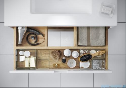 Excellent Tuto szafka wisząca z umywalką 60x50x45 cm szary dąb MLEX.0103.600.GRBL/CEEX.3617.600.WH