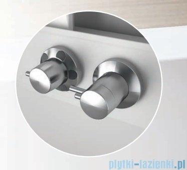 Novellini Glax 3 kabina prysznicowa z hydromasażem 120x90 lewa srebrny GL32P290ST1F-1B