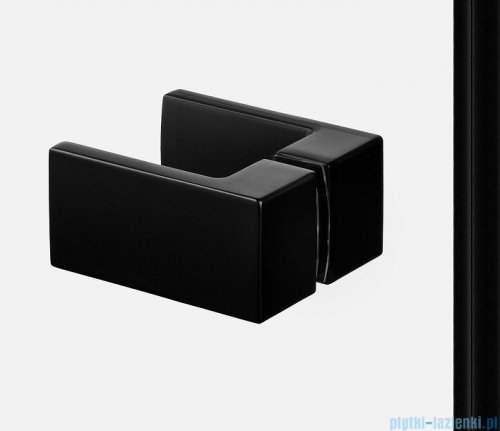 New Trendy Avexa Black kabina kwadratowa 110x80x200 cm przejrzyste EXK-1842
