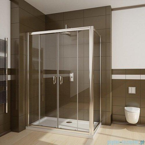 Radaway Premium Plus DWD+S kabina prysznicowa 140x100cm szkło przejrzyste