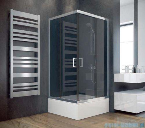 Besco Modern kabina kwadratowa 90x90x165cm przejrzyste