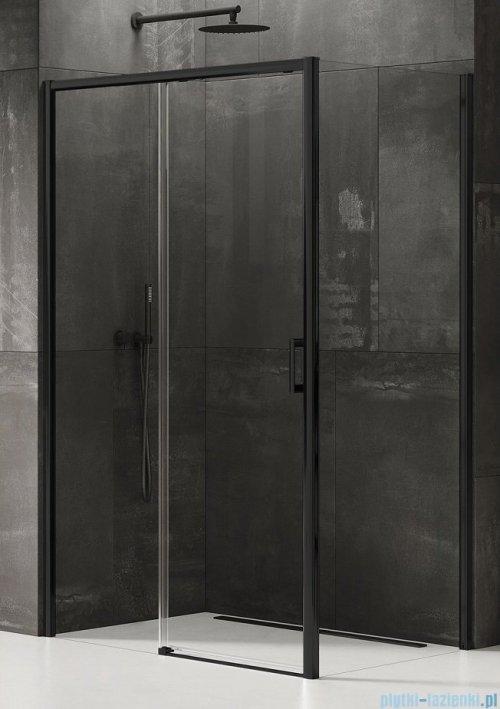 New Trendy Prime Black kabina prostokątna 100x90x200 cm lewa przejrzyste D-0316A/D-0129B