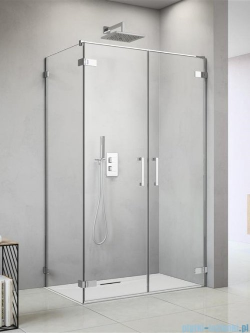 Radaway Arta Dwd+s kabina 85x100cm prawa szkło przejrzyste ShowerGuard