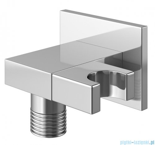 Kohlman Saxo zestaw prysznicowy chrom QW210SQ20