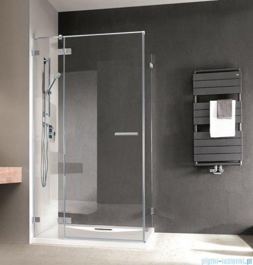 Radaway Euphoria KDJ Kabina prysznicowa 120x80 lewa szkło przejrzyste + brodzik Argos D + syfon