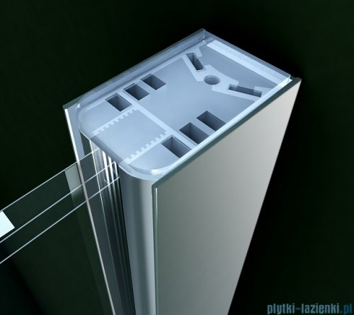 Clusi Zeus kabina Walk-in 120x200 cm przejrzyste 3329ZEU120