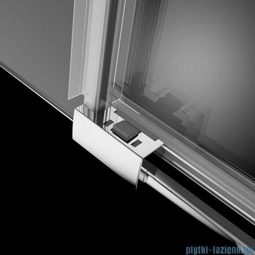 Radaway Idea Kdj kabina 120x90cm lewa szkło przejrzyste + brodzik Doros D + syfon