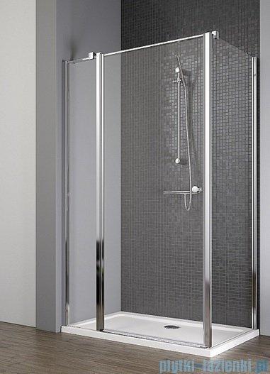 Radaway Eos II KDJ kabina prysznicowa 80x80 lewa szkło przejrzyste + brodzik Delos C + syfon