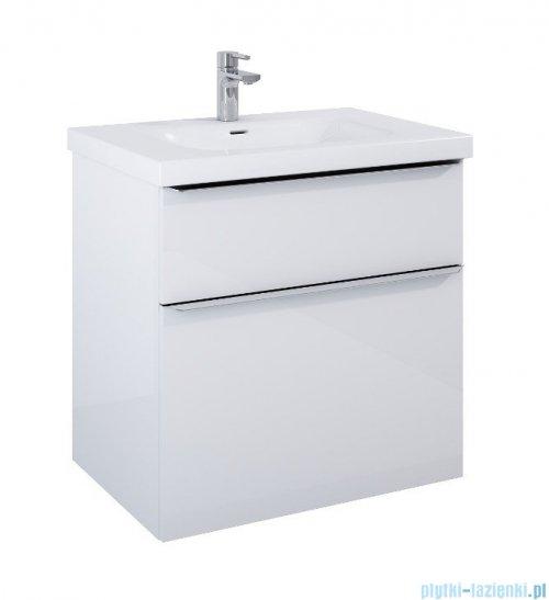 Elita Lofty szafka z umywalką 71x69x48cm biały połysk 167026/145370