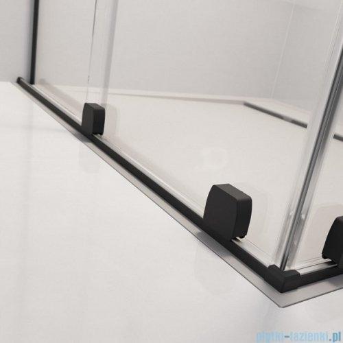 Radaway Furo Black PND II parawan nawannowy 130cm prawy szkło przejrzyste 10109688-54-01R/10112644-01-01
