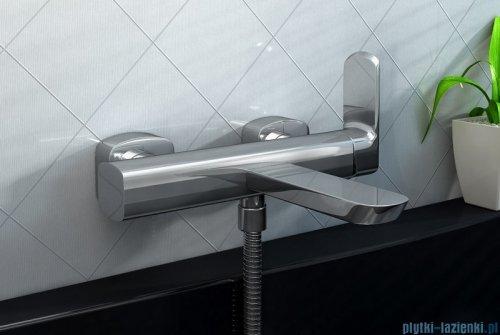 Kohlman Foxal Natynkowa bateria wannowo-prysznicowa