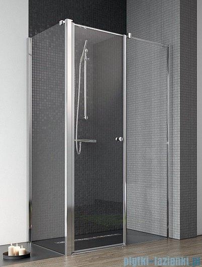 Radaway Eos II KDS kabina prysznicowa 120x80 prawa szkło przejrzyste + brodzik Argos D + syfon