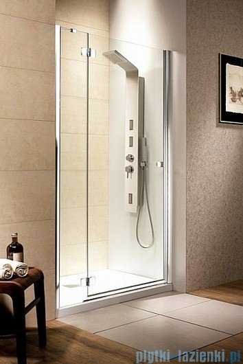 Radaway Drzwi wnękowe Fuenta DWJ 80 lewe szkło intimato