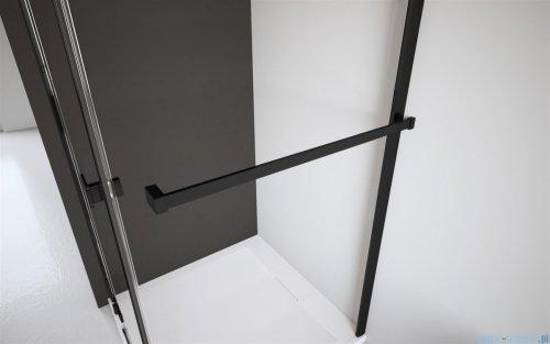 Radaway Idea Black Pnj parawan nawannowy 70cm L/P przejrzyste 10001070-54-01