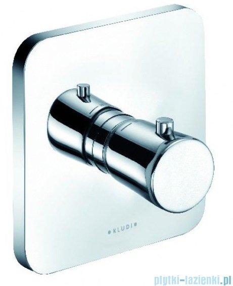 Kludi E2 podtynkowa bateria natryskowa z termostatem chrom 497290575