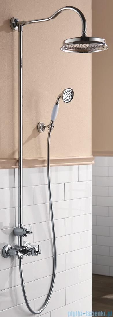 Omnires Armance system prysznicowy natynkowy termostatyczny chrom AM5244/6CR