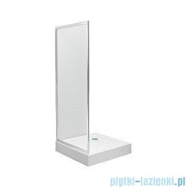 Koło First Ścianka boczna 80cm szkło przezroczyste profil srebrny połysk ZSKX80222003