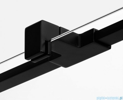 New Trendy Avexa Black kabina kwadratowa 80x80x200 cm przejrzyste prawa EXK-1563