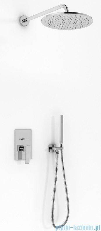 Kohlman Axis zestaw prysznicowy chrom