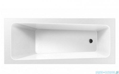 Wanna prostokątna Excellent AVA 170x70 biała z nogami WAEX.AVA17WH
