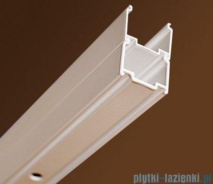 Ravak Blix BLRV2K drzwi prysznicowe 1/2 110cm aluminium grape Anticalc 1XVD0C00ZG
